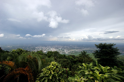 View from Wat Phra That Doi Suthep, Chiang Mai