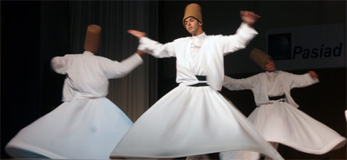 Whirling Dervishes of Rumi from Turkiye