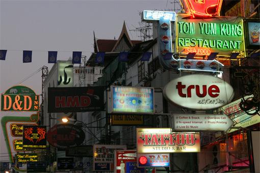 Kao San Road, Bangkok