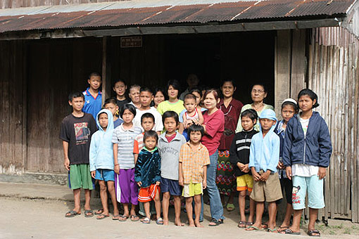 Safe Haven Orphanage, Thailand Burma border