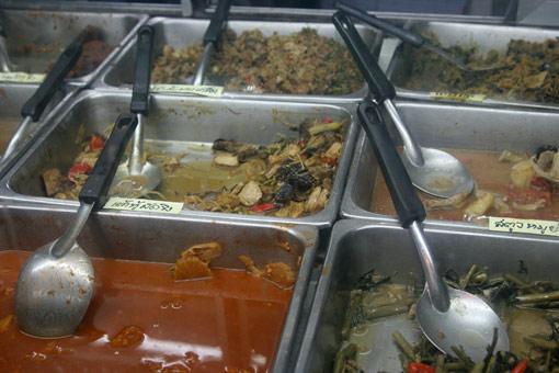 Vegetarian restaurant, Suthep Road, Chiang Mai