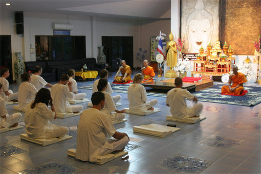 Meditation retreat - Wat Suan Dok, Chiang Mai