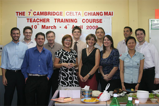 CELTA course in Chiang Mai, Thailand