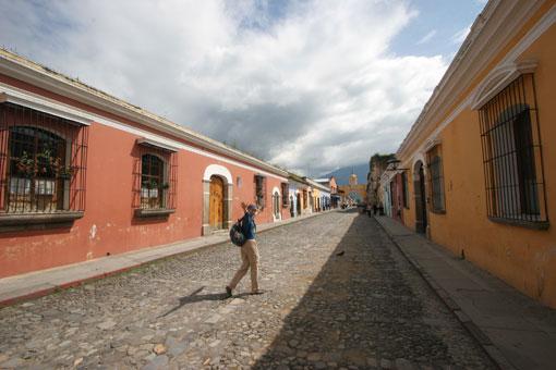 Tina in La Antigua, Guatemala