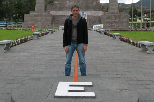 Mitad del Mundo (the Equator), Ecuador