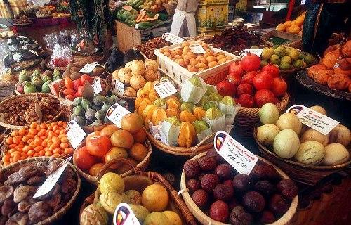 fruits, food