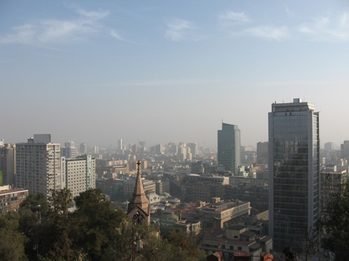 Pollution in Santiago